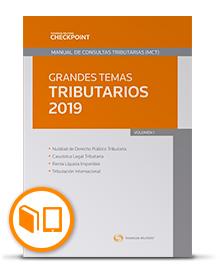 Grandes Temas Tributarios 2019, Volumen 1 -Thomson Reuters